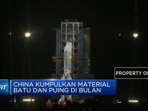 China Kumpulkan Material Batu dan Puing di Bulan
