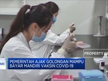 Pemerintah Ajak Golongan Mampu Bayar Mandiri Vaksin Covid-19