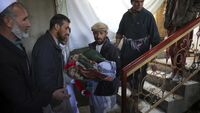 Potret Ibu Kota Afghanistan Kabul Usai Dihantam Mortir ISIS