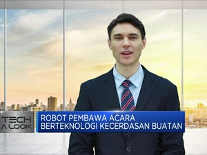 Robot Pembawa Acara Berteknologi Kecerdasan Buatan