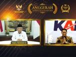 Keterbukaan Informasi Bawa KAI Raih Penghargaan Dari Wapres