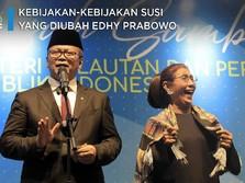 Ini Kebijakan-Kebijakan Susi yang 'Dibuang' Edhy Prabowo
