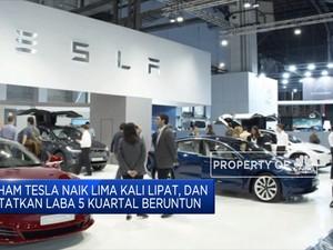 Market Cap Tesla Lampaui USD 500 M