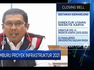 Waskita Karya Bidik Proyek Baru  Rp 31 Triliun di Tahun 2021