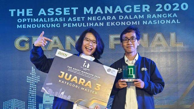 PGAS PGN Raih Juara 3 The Asset Manager 2020