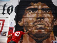 Duka Penggemar, Argentina Tangisi Kepergian Maradona