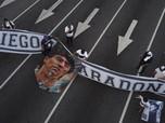 Warga Argentina Pertanyakan Kematian Diego Maradona, Ada Apa?