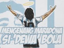 Good Bye Legend! Maradona Sang 'Gol Tangan Tuhan' Telah Pergi