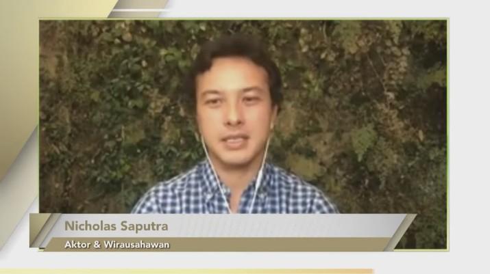 Nicholas Saputra, Aktor & Wirausahawan (Tangkapan Layar Youtube Bank Mandiri)