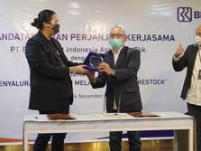 BRI Agro Gandeng Restock Salurkan Kredit via Platform Digital
