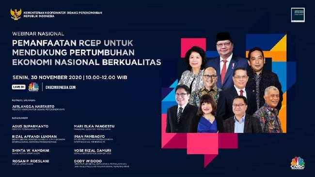 Kupas Tuntas Peluang & Tantangan Perjanjian RCEP di Event Ini