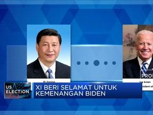 Xi Jinping Beri Selamat ke Biden, Trump Masih Ngotot Menang