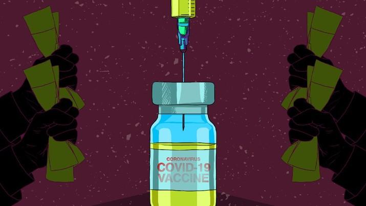 Infografis/ Kabar Baik  dari BPOM Terkait  Vaksin Covid-19