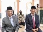 Mahfud MD Jumpa Gatot Nurmantyo di Masjid UGM, Bahas Apa ya?