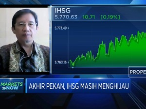 Masih Menghijau, IHSG Siap Melaju Ke Level 5.900