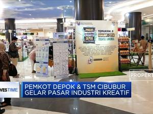 Pemkot Depok & TSM Cibubur Gelar Pasar Industri Kreatif