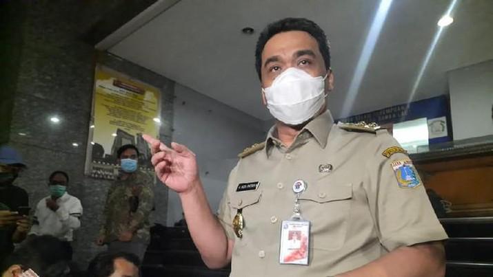 Wagub DKI Jakarta Ahmad Riza Patria terkonfrimasi positif COVID-19. (Yogi Ernes/detikcom)