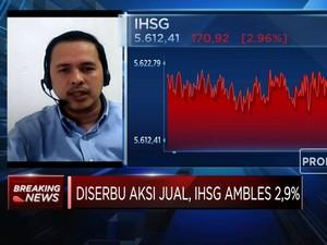 Analis: Terkoreksi 2,96%, Pelemahan IHSG Hanya Jangka Pendek