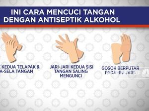 Ini Cara Mencuci Tangan Dengan Antiseptik Alkohol