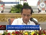 Jokowi Geram Kasus Covid-19 RI Memburuk
