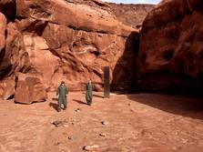 Ini Tugu Logam Misterius di Gurun AS yang Tiba-tiba Hilang