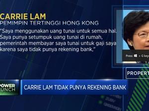 Ternyata Carrie Lam Tidak Punya Rekening Bank Loh