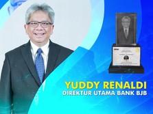 Dirut bjb Yuddy Renaldi Raih Gelar Bankers of The Year 2020