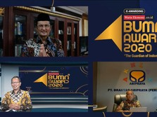 Brantas Abipraya Kantongi 2 Penghargaan dari BUMN Award 2020
