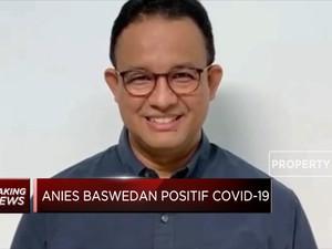 Gubernur Anies Baswedan Positif Covid-19