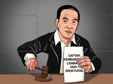 Jreng! 10 Lembaga Ini Dibubarkan Jokowi