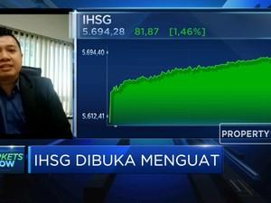 IHSG Dibuka Menguat, Investor Masih Cenderung Hati-hati