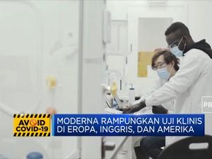 Rampungkan Fase Uji Klinis Vaksin Moderna Manjur 94%