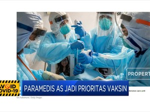 CDC: Paramedis AS jadi Prioritas Vaksin