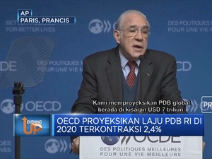 OECD Prediksi Pertumbuhan Ekonomi Global -4,2% Pada 2020