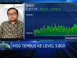Ditutup Menguat, IHSG Tembus Level 5.800