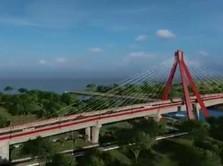 Keren! Danau Toba Bakal Punya Jembatan Ikonik Dibangun Jokowi