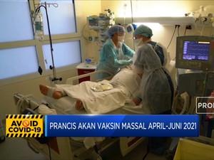 Prancis akan Vaksin Massal pada April-Juni 2021
