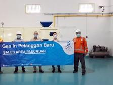 PGN Alirkan Gas ke Industri Bipang Pasuruan