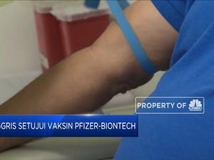 Inggris Setujui Vaksin Pfizer-BioNTech