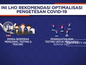 Ini Lho Rekomendasi Optimalisasi Pengetesan Covid-19