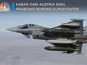 Sstt.. Ada Kabar dari Austria Soal Prabowo Borong Eurofighter