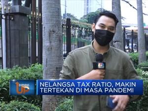 Nelangsa Tax Ratio, Makin Tertekan Di Masa Pandemi