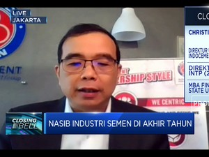 Proyek Infra Ditunda, Kinerja Industri Semen Minus 11%