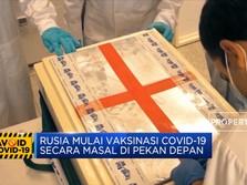 Rusia Mulai Vaksinasi Covid-19 Secara Massal Di Pekan Depan