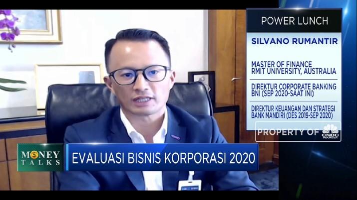 Uji Strategi & Kinerja Bisnis Korporasi BNI di Tahun Pandemi (CNBC Indonesia TV)