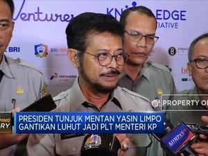 Yasin Limpo Gantikan Luhut sebagai Menteri KP Ad Interim