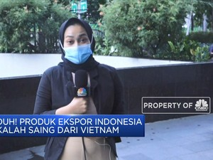Duh! Produk Ekspor Indonesia Masih Kalah Dari Vietnam