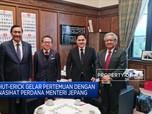 Luhut Sebut Jepang Berkomitmen Investasi di SWF Indonesia