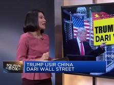 Trump Usir China dari Wall Street