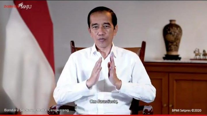 Foto/ Kedatangan Vaksin Covid-19, Bandara Soekarno Hatta, 6 Desember 2020/ Youtube: Setpres